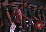 Image of dining hall Vietnam, 1966, second 8 stock footage video 65675024797