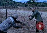 Image of barracks under construction Vietnam, 1965, second 2 stock footage video 65675024800