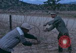 Image of barracks under construction Vietnam, 1965, second 3 stock footage video 65675024800