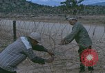 Image of barracks under construction Vietnam, 1965, second 6 stock footage video 65675024800