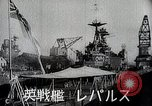 Image of warships Singapore, 1942, second 9 stock footage video 65675024827