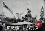 Image of warships Singapore, 1942, second 10 stock footage video 65675024827
