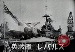 Image of warships Singapore, 1942, second 11 stock footage video 65675024827