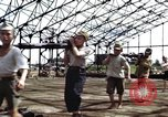 Image of steel shell of hangar Japan, 1945, second 12 stock footage video 65675024855