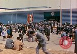 Image of American pavilion at Osaka Trade Fair Osaka Japan, 1962, second 8 stock footage video 65675024907
