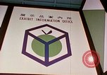 Image of USA pavilion in trade fair Osaka Japan, 1962, second 2 stock footage video 65675024909