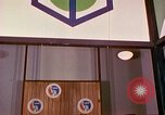 Image of USA pavilion in trade fair Osaka Japan, 1962, second 5 stock footage video 65675024909