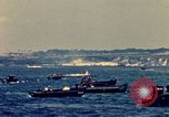 Image of United States warships in Battle for Okinawa World War 2 Okinawa Ryukyu Islands, 1945, second 11 stock footage video 65675024941