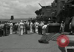 Image of USS Mississippi Pacific Ocean, 1944, second 11 stock footage video 65675024952
