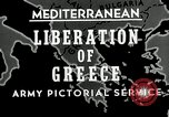 Image of liberation Greece, 1944, second 2 stock footage video 65675024960
