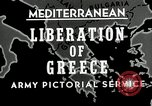 Image of liberation Greece, 1944, second 3 stock footage video 65675024960