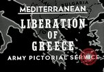 Image of liberation Greece, 1944, second 4 stock footage video 65675024960