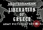 Image of liberation Greece, 1944, second 5 stock footage video 65675024960