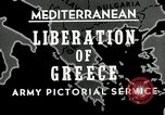 Image of liberation Greece, 1944, second 6 stock footage video 65675024960