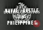 Image of naval battle Philippine Sea, 1944, second 8 stock footage video 65675024962