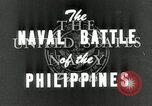 Image of naval battle Philippine Sea, 1944, second 9 stock footage video 65675024962