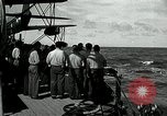 Image of USS Mississippi Philippines, 1945, second 4 stock footage video 65675024969