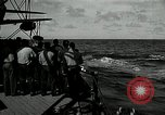 Image of USS Mississippi Philippines, 1945, second 6 stock footage video 65675024969