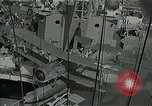 Image of bombarding Pacific Ocean, 1944, second 6 stock footage video 65675024983