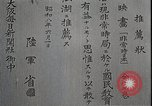 Image of Opening slates in Japanese Japan, 1933, second 12 stock footage video 65675025027