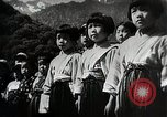 Image of extreme Nationalism in Japanese school Japan, 1945, second 9 stock footage video 65675025076