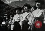 Image of extreme Nationalism in Japanese school Japan, 1945, second 10 stock footage video 65675025076