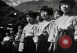 Image of extreme Nationalism in Japanese school Japan, 1945, second 11 stock footage video 65675025076