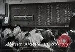 Image of Students learn Math Japan, 1945, second 1 stock footage video 65675025078