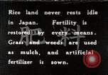 Image of Rice Field Fertilization Japan, 1934, second 1 stock footage video 65675025114