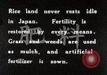 Image of Rice Field Fertilization Japan, 1934, second 7 stock footage video 65675025114