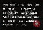 Image of Rice Field Fertilization Japan, 1934, second 11 stock footage video 65675025114