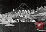 Image of Documentary film on Japan and Her Problems Japan, 1935, second 2 stock footage video 65675025119