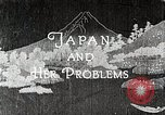 Image of Documentary film on Japan and Her Problems Japan, 1935, second 3 stock footage video 65675025119