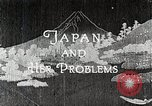 Image of Documentary film on Japan and Her Problems Japan, 1935, second 4 stock footage video 65675025119