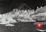 Image of Documentary film on Japan and Her Problems Japan, 1935, second 5 stock footage video 65675025119