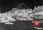 Image of Documentary film on Japan and Her Problems Japan, 1935, second 7 stock footage video 65675025119