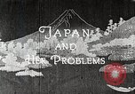 Image of Documentary film on Japan and Her Problems Japan, 1935, second 8 stock footage video 65675025119