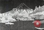 Image of Documentary film on Japan and Her Problems Japan, 1935, second 9 stock footage video 65675025119