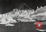 Image of Documentary film on Japan and Her Problems Japan, 1935, second 10 stock footage video 65675025119