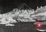 Image of Documentary film on Japan and Her Problems Japan, 1935, second 11 stock footage video 65675025119