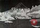Image of Documentary film on Japan and Her Problems Japan, 1935, second 12 stock footage video 65675025119