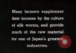 Image of Japanese Silk Industry Japan, 1935, second 3 stock footage video 65675025136