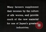 Image of Japanese Silk Industry Japan, 1935, second 11 stock footage video 65675025136