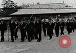 Image of Students Cleaning Ground Honshu Japan, 1935, second 1 stock footage video 65675025145