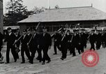 Image of Students Cleaning Ground Honshu Japan, 1935, second 2 stock footage video 65675025145