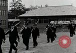 Image of Students Cleaning Ground Honshu Japan, 1935, second 9 stock footage video 65675025145