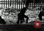 Image of People Clear Snow Japan, 1935, second 2 stock footage video 65675025153