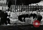 Image of People Clear Snow Japan, 1935, second 5 stock footage video 65675025153
