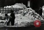 Image of People Clear Snow Japan, 1935, second 9 stock footage video 65675025153
