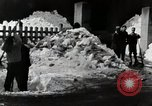 Image of People Clear Snow Japan, 1935, second 10 stock footage video 65675025153